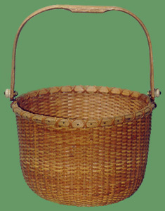 Small Nantucket Basket Photograph.
