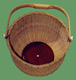 Link to Small Round Nantucket Basket.